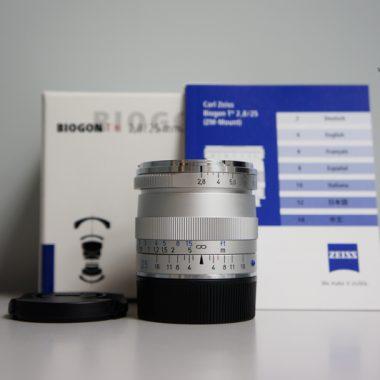 Carl Zeiss Biogon T* 25mm F2.8 ZM (Silver)
