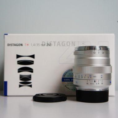 Carl Zeiss Distagon T* 35mm F1.4 ZM (Silver)
