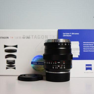 Carl Zeiss Distagon T* 35mm F1.4 ZM (Black)