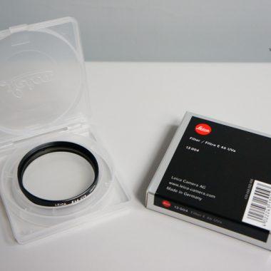 Leica E46 UVa Filter – 46mm (Black)