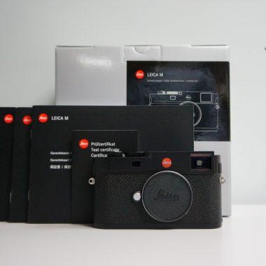 Leica M Typ 262 – Black