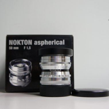 Voigtlander VM Nokton 50mm F1.5 Aspherical (Silver)