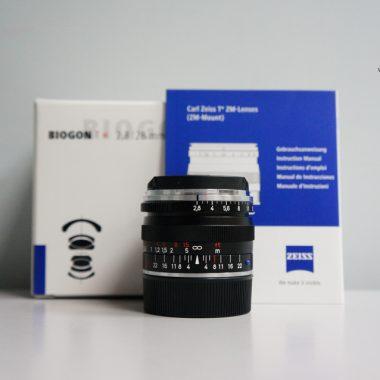 Carl Zeiss Biogon T* 28mm F2.8 ZM (Black)