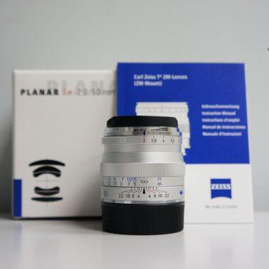 Carl Zeiss Planar T* 50mm F2.0 ZM (Silver)