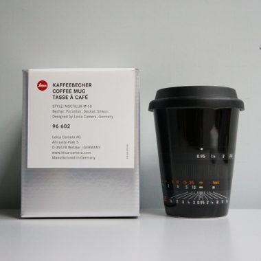 Leica Coffee Mug – Style Noctilux-M 50 (Black)