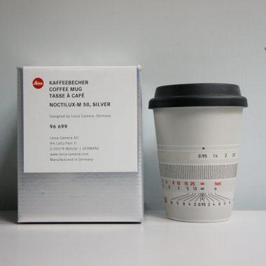 Leica Coffee Mug – Style Noctilux-M 50 (Silver)