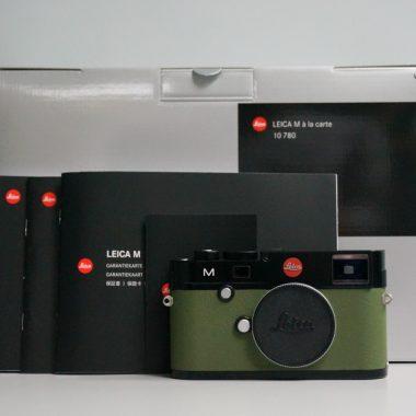 Leica M (Typ 240) à la carte – Black & Green