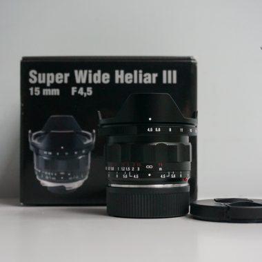 Voigtlander VM Super Wide-Heliar 15mm F4.5 Aspherical III