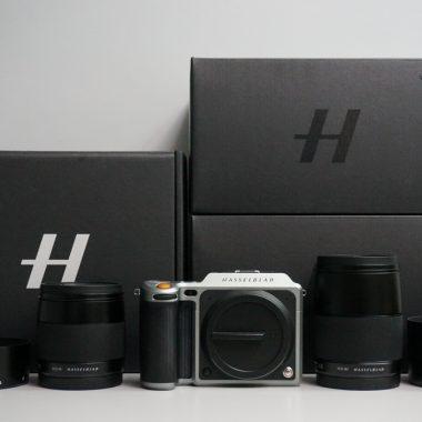 Hasselblad X1D-50c Digital Camera with XCD 45mm f3.5 & 90mm f3.2 Lens