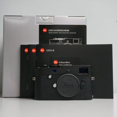 Leica M Monochrom Typ 246 – Black